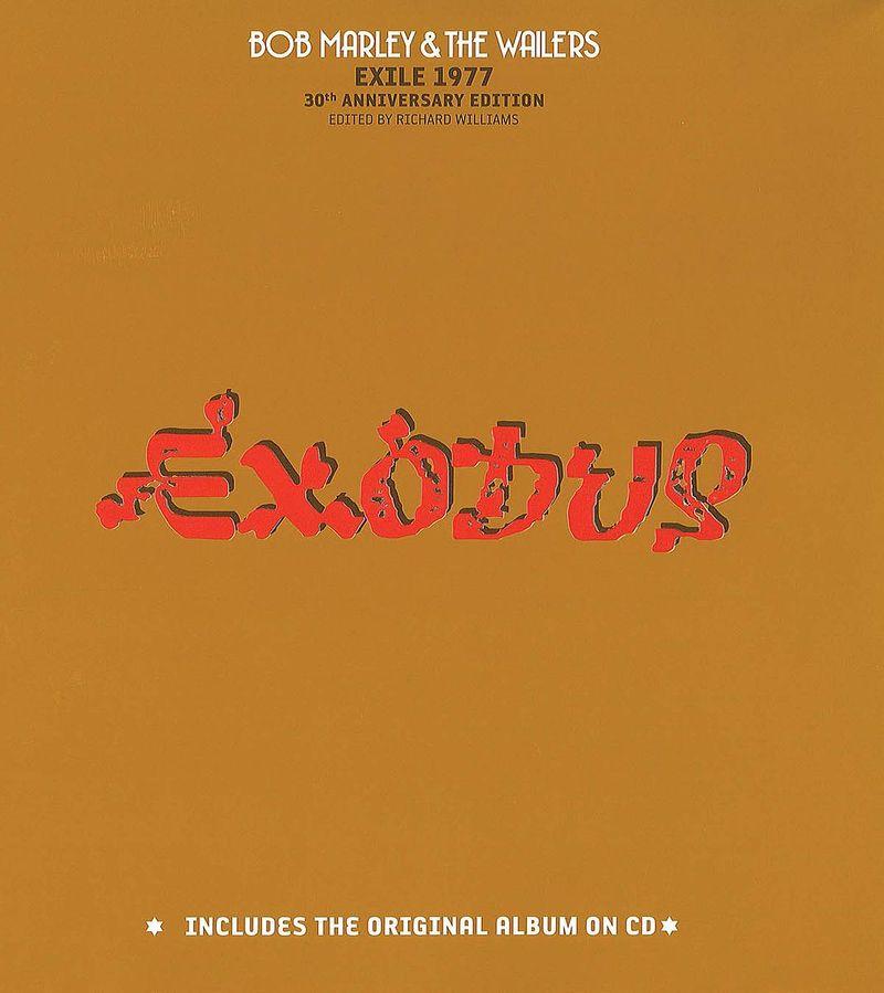 Bob Marley album cover Exodus