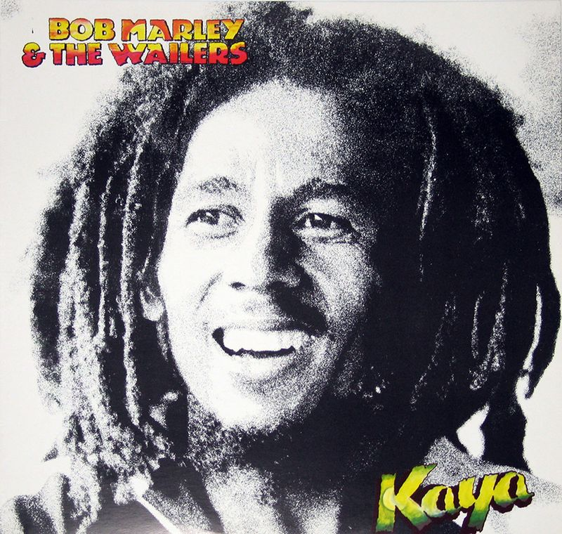 Bob Marley album cover Kaya