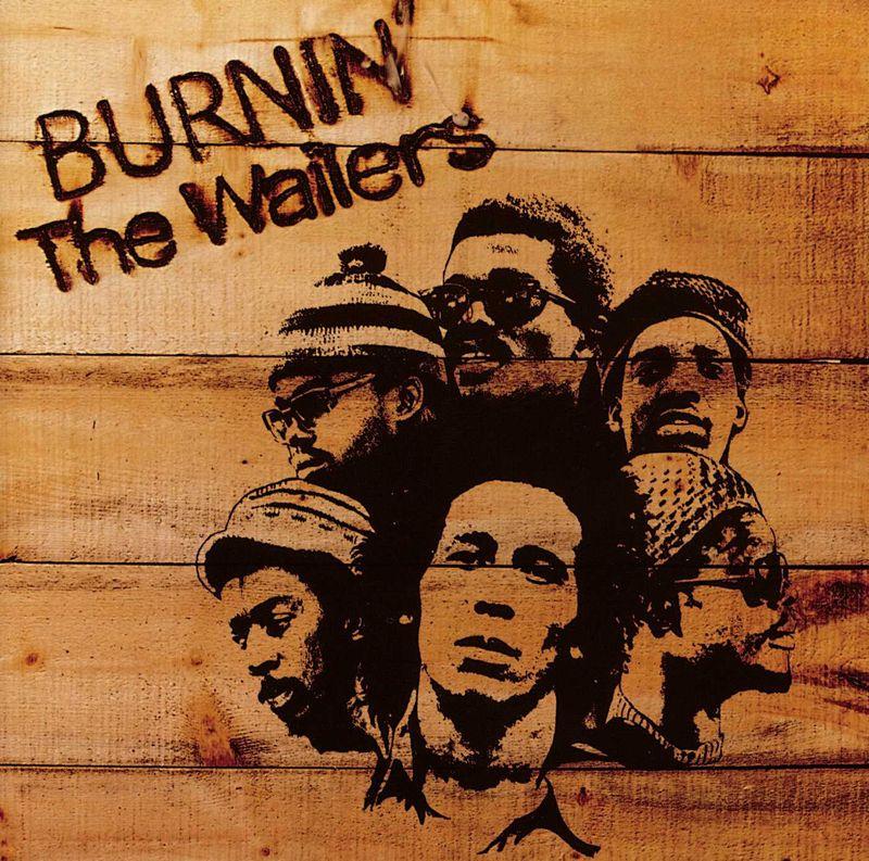 Bob Marley's Burnin album cover
