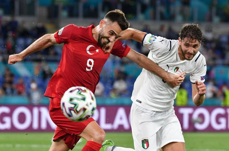 In pictures: Italy beat Turkey 3-0 in opening game of Euro 2020