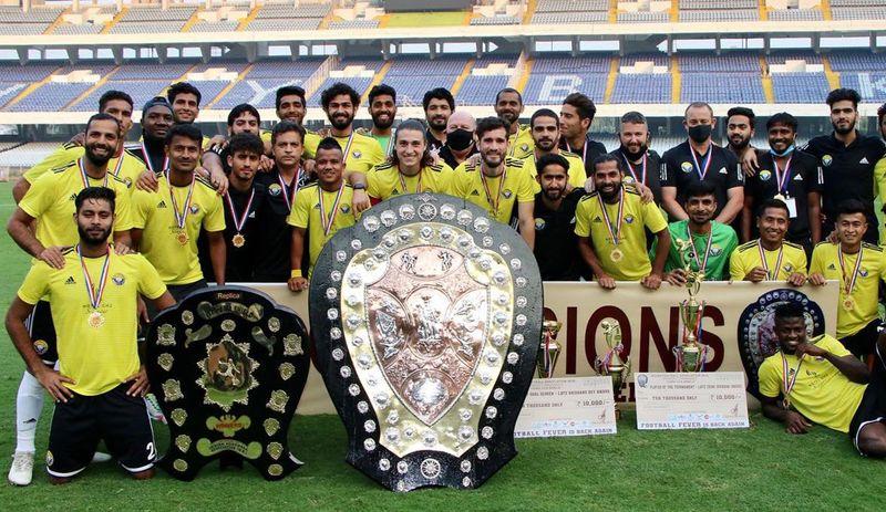 Football-Real Kashmir