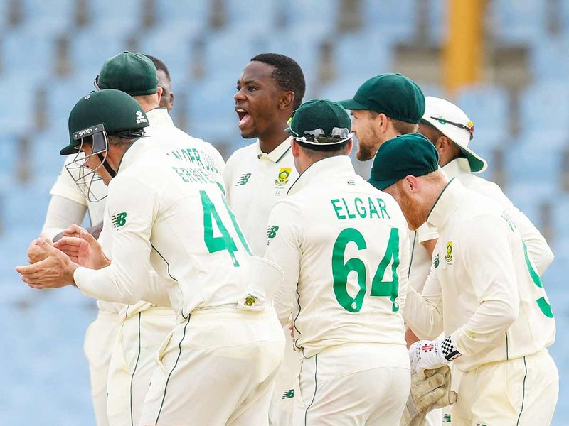 South Africa take total control of first Test against West Indies