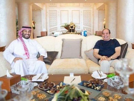 Al Sissi, Saudi Crown Prince discuss boosting of ties
