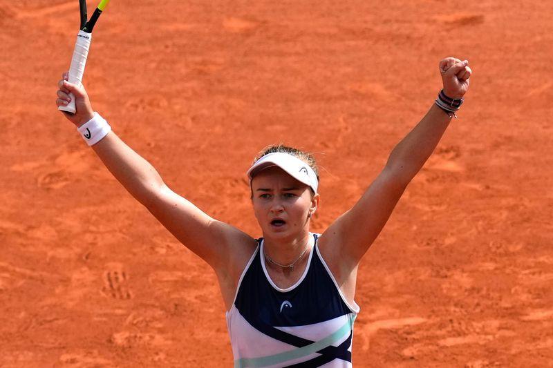 French Open: Krejcikova first Czech in 40 years to lift women's title