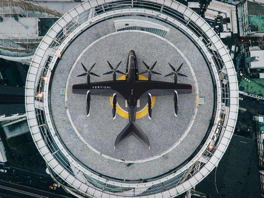 A rendering of Vertical Aerospace's VA-X4 aircraft