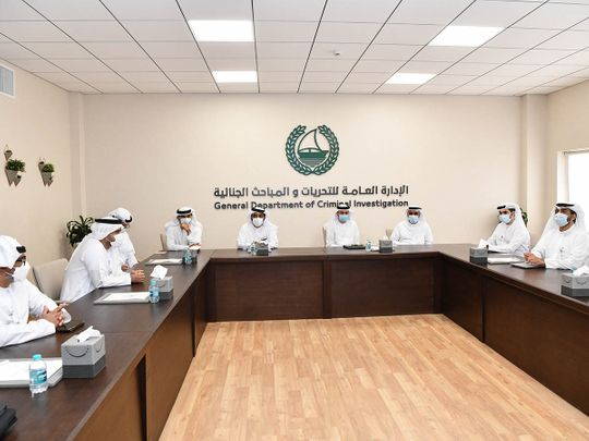 Dubai Police assesses readiness to combat Economic and Electronic Crimes-1623582940145