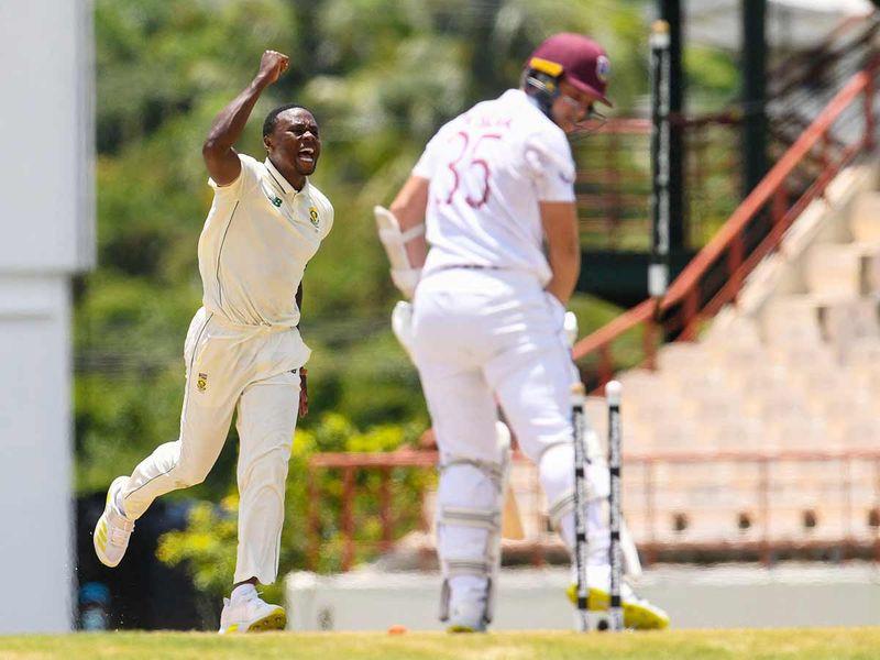 Kagiso Rabada rips through Windies as South Africa seal innings win