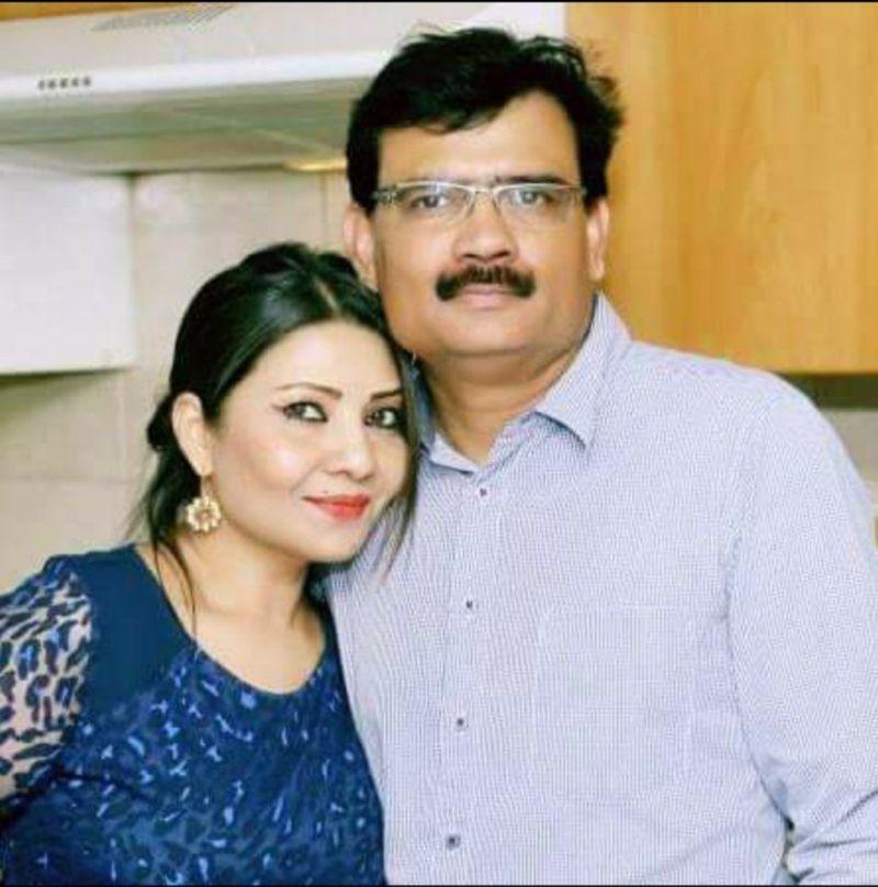 NAT Neha Singh Dubey and husband Alok Dubey-1623589064470