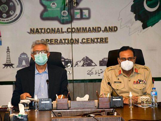 WPK pak Dr Faisal Sultan Maj Gen Asif Mehmood Goraya-1623587425860