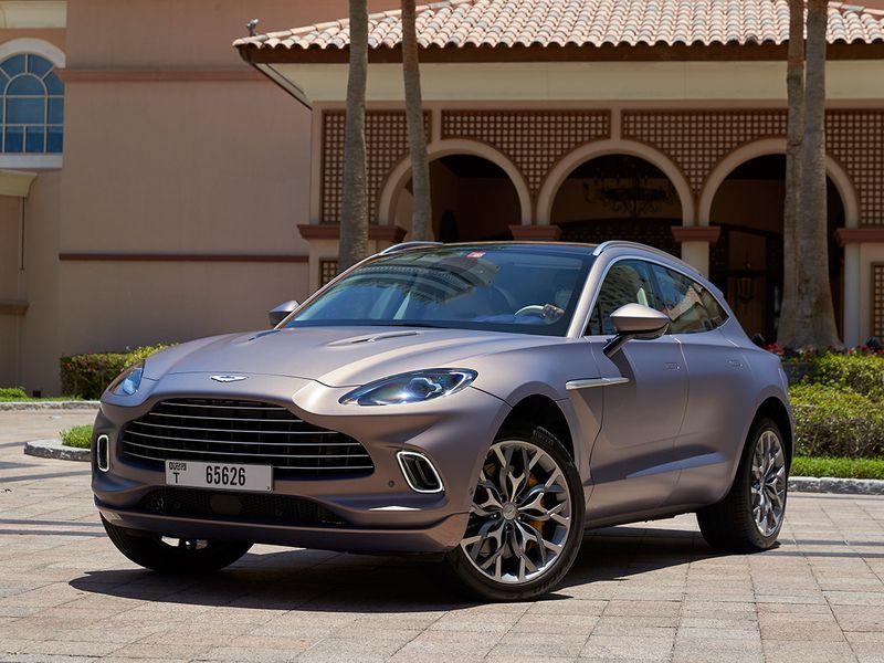 Driven in the UAE: Aston Martin DBX