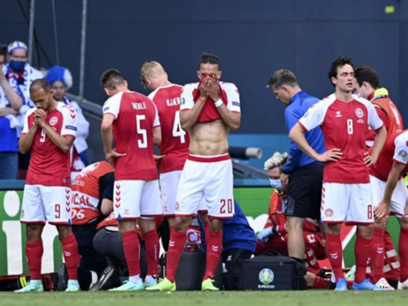 Euro 2020: Eriksen's collapse during Denmark, Finland match reminds us of how fragile life really is