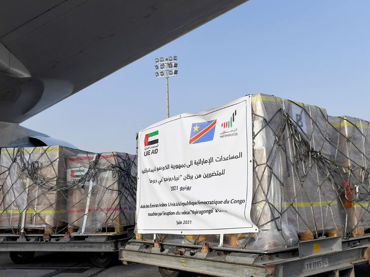 UAE sends 51 tonnes of urgent aid to Congo   Government – Gulf News