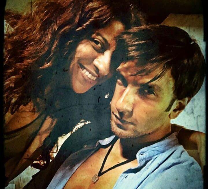 Actor and director Ranveer Singh and Zoya Akhtar
