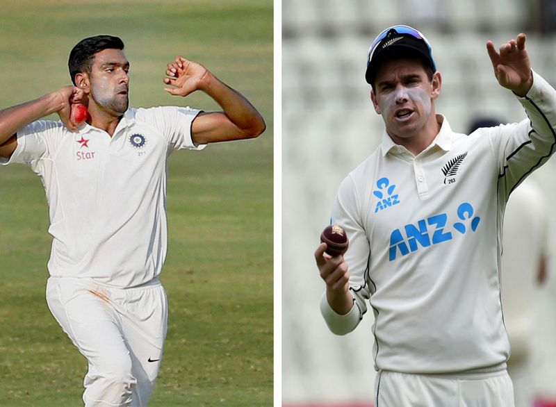 Cricket - Ashwin vs Latham
