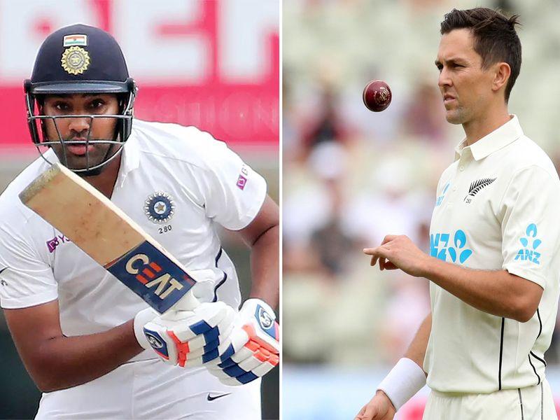 Cricket- Rohit Sharma, Trent Boult