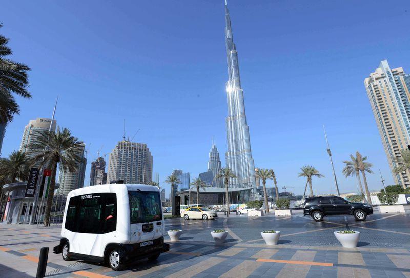 Smart Transport Dubai driverless pods