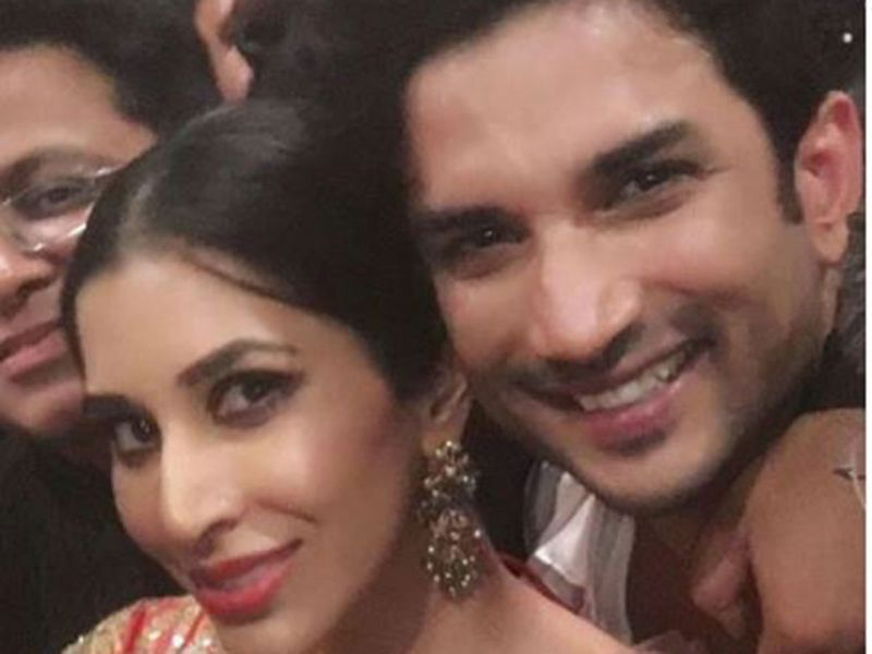 Sophie Choudry with Sushant Singh Rajput