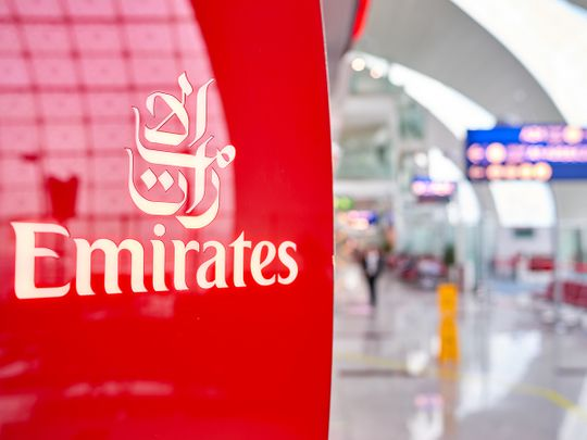 Stock Emirates airlines