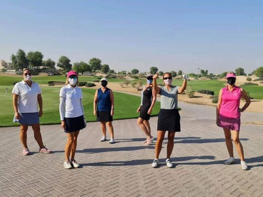 The Desert Rose Golfing Society has over 160 members and is EGF-affiliated