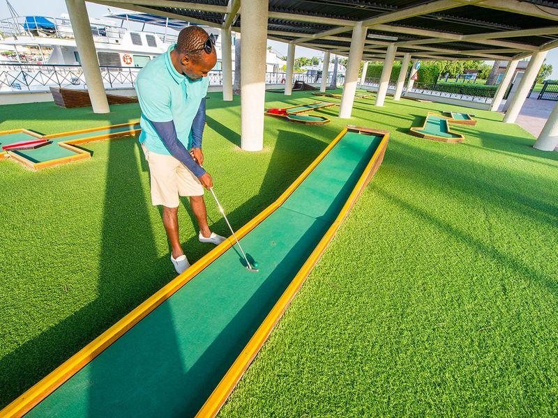 The JA Group Resort Mini Golf in Jebel Ali