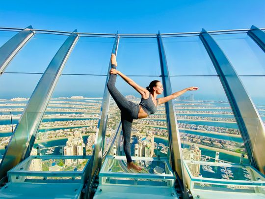 Yoga at the View