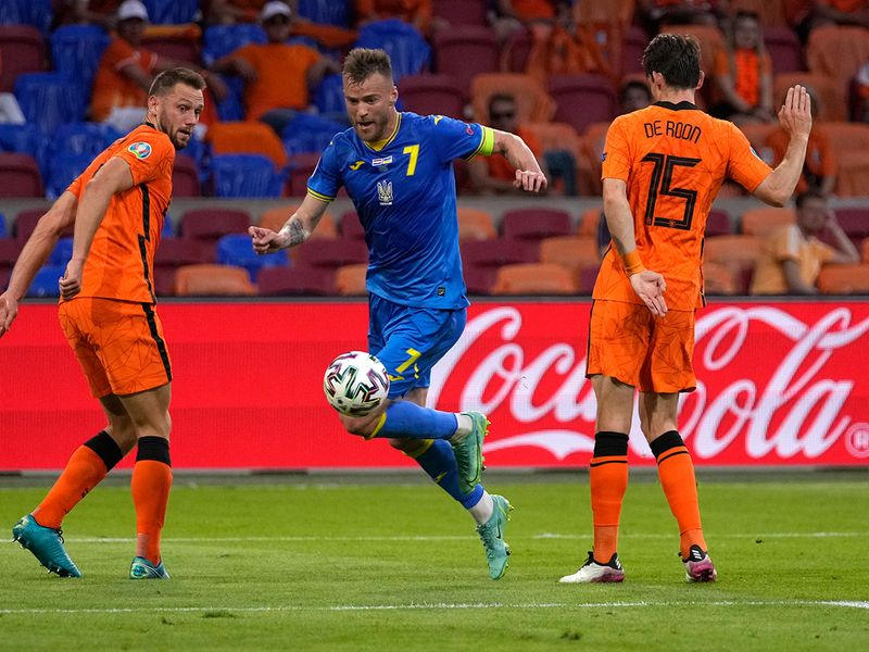 In pictures: Netherlands and Ukraine serve up best match of Euro 2020