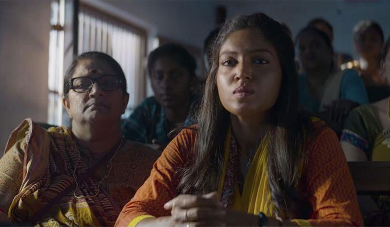 Bhumi Pednekar in the film Bala