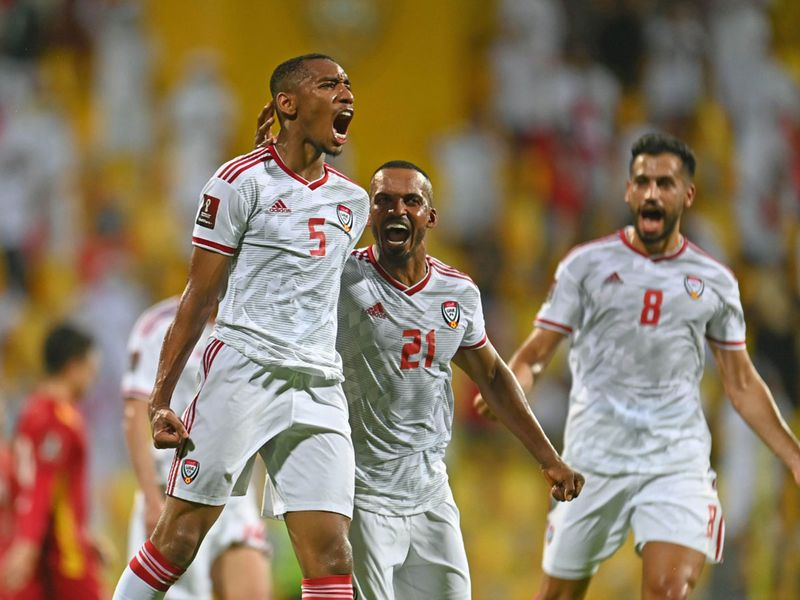 It is party time for the UAE as they beat Vietnam 3-2
