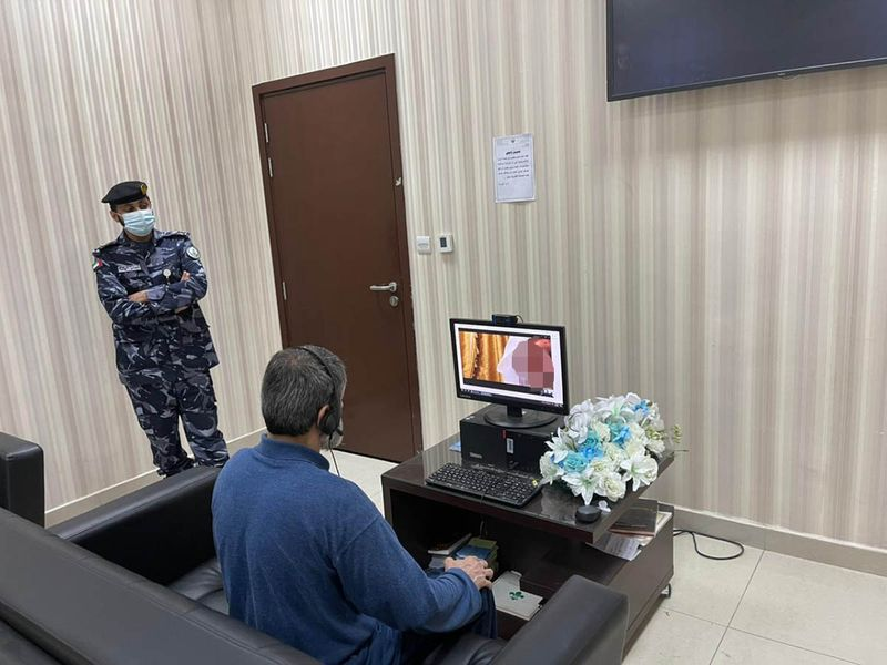 NAT Inmate at Sharjah jail attends wedding of his two daughters virtually-1623740800400