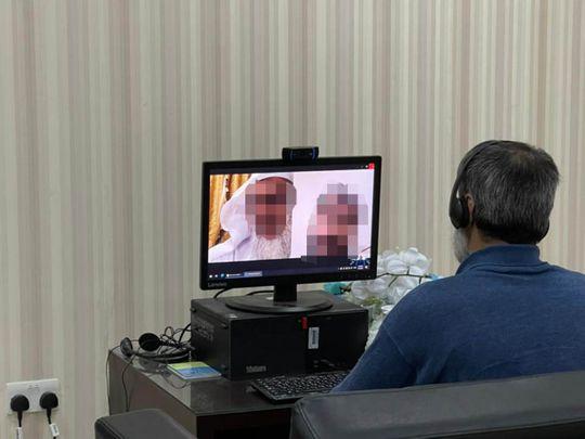 NAT Inmate at Sharjah jail attends wedding of his two daughters virtually2-1623740802301