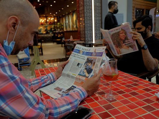 Reading Gulf News