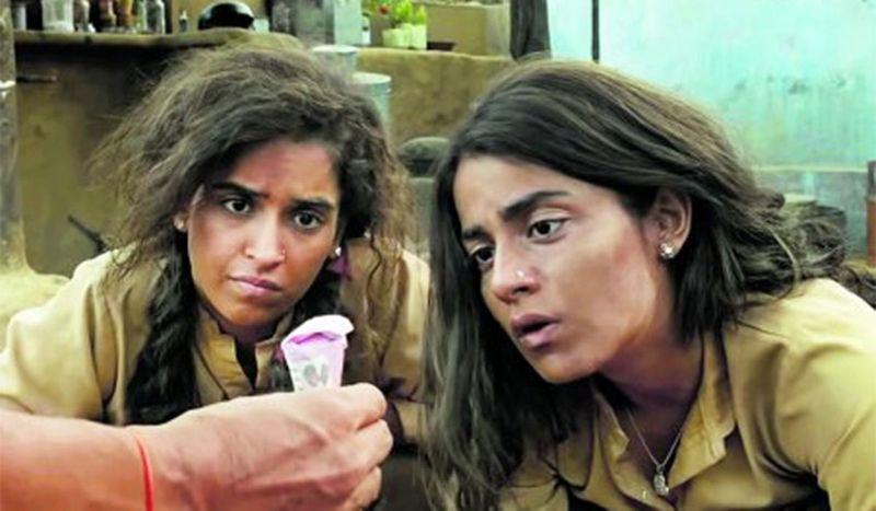 Sanya Malhotra and Radhika Madan