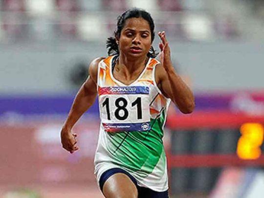 Athletics - Dutee Chand