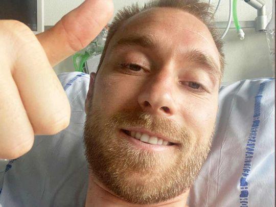 Danish footballer Christian Eriksen