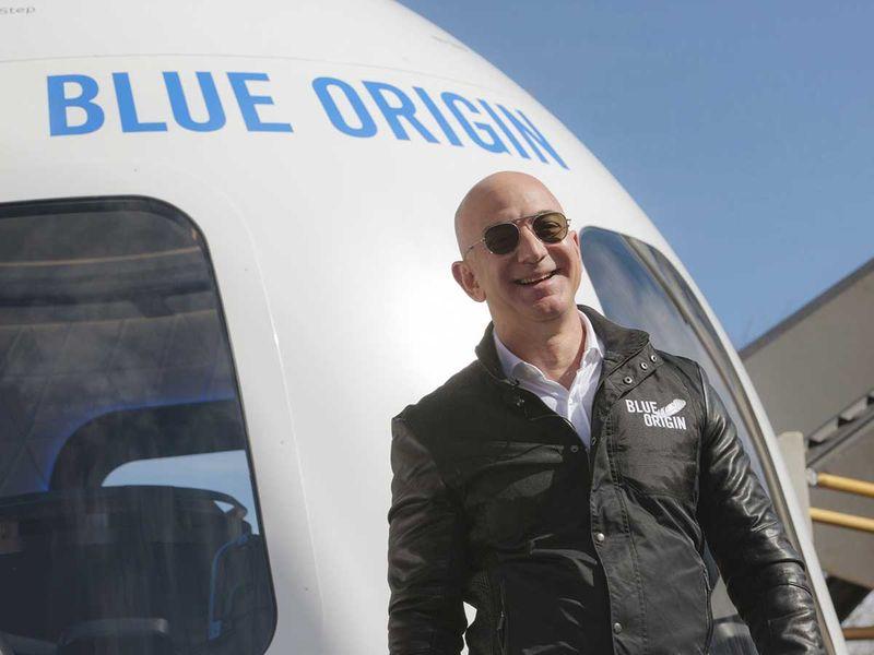 Jeff Bezos Blue Origin New Shepard