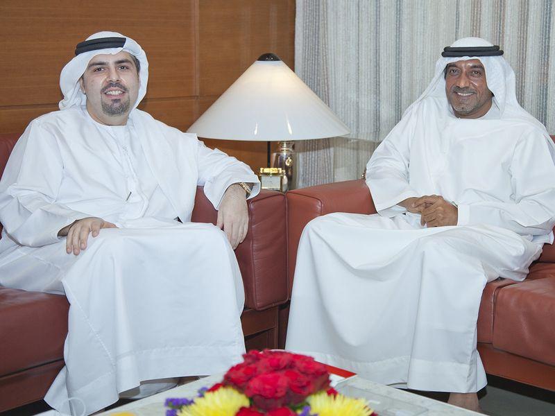 Mr. Mohammed Mohebi with HH Sheikh Ahmed Bin Saeed Al Maktoum.JPG-1623853861867