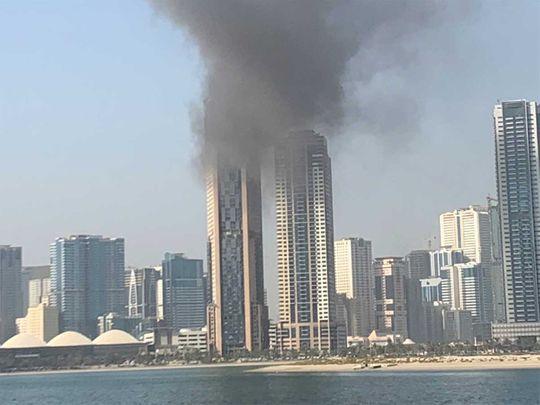 20210617 fire in sharjah