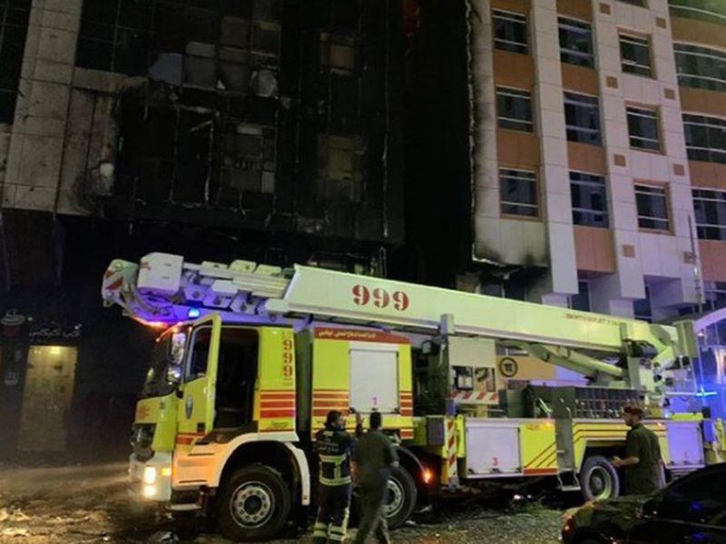 210617 Abu Dhabi fire