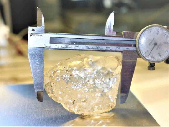 A 1,098 carat diamond,
