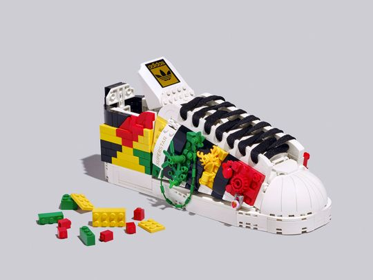 Adidas Oiginals x Lego sneakers