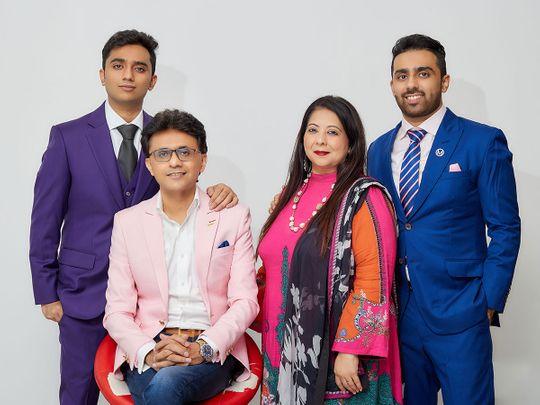 Anis Sajan and family