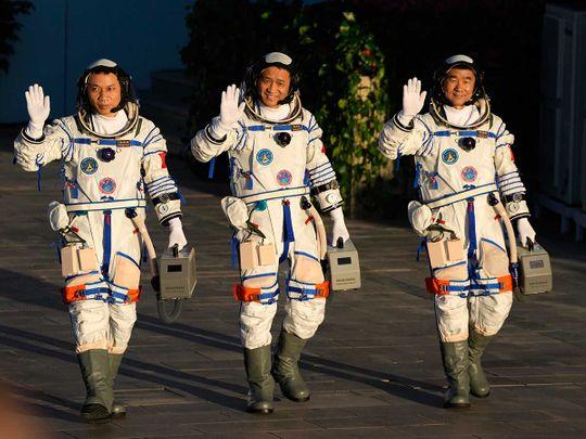 China space astronauts