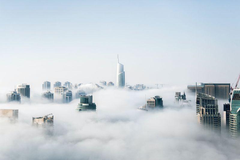 Dubai weather foggy
