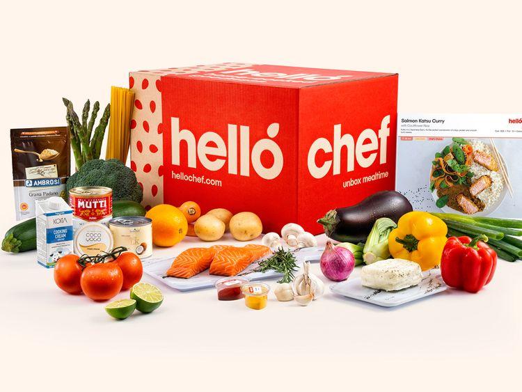 Hello Chef box 1