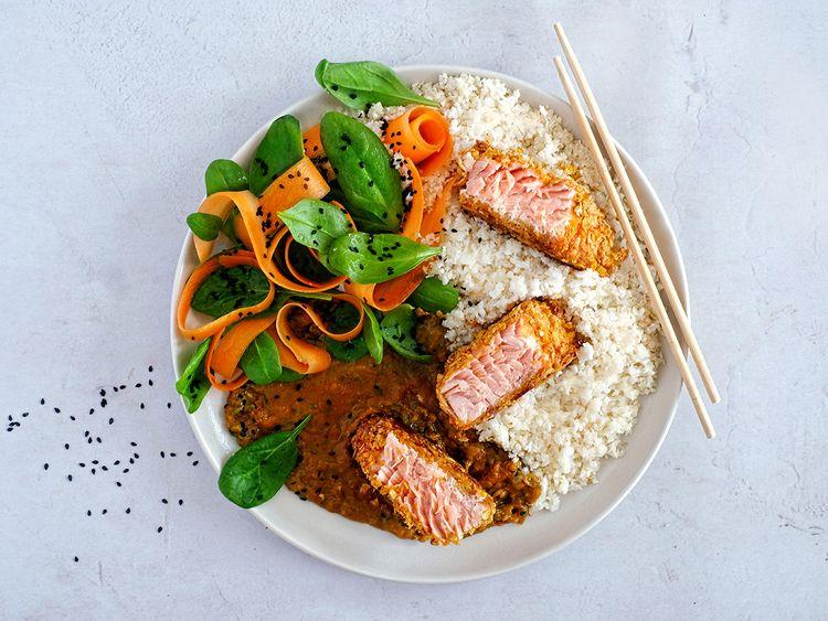 Hello Chef salmon katsu