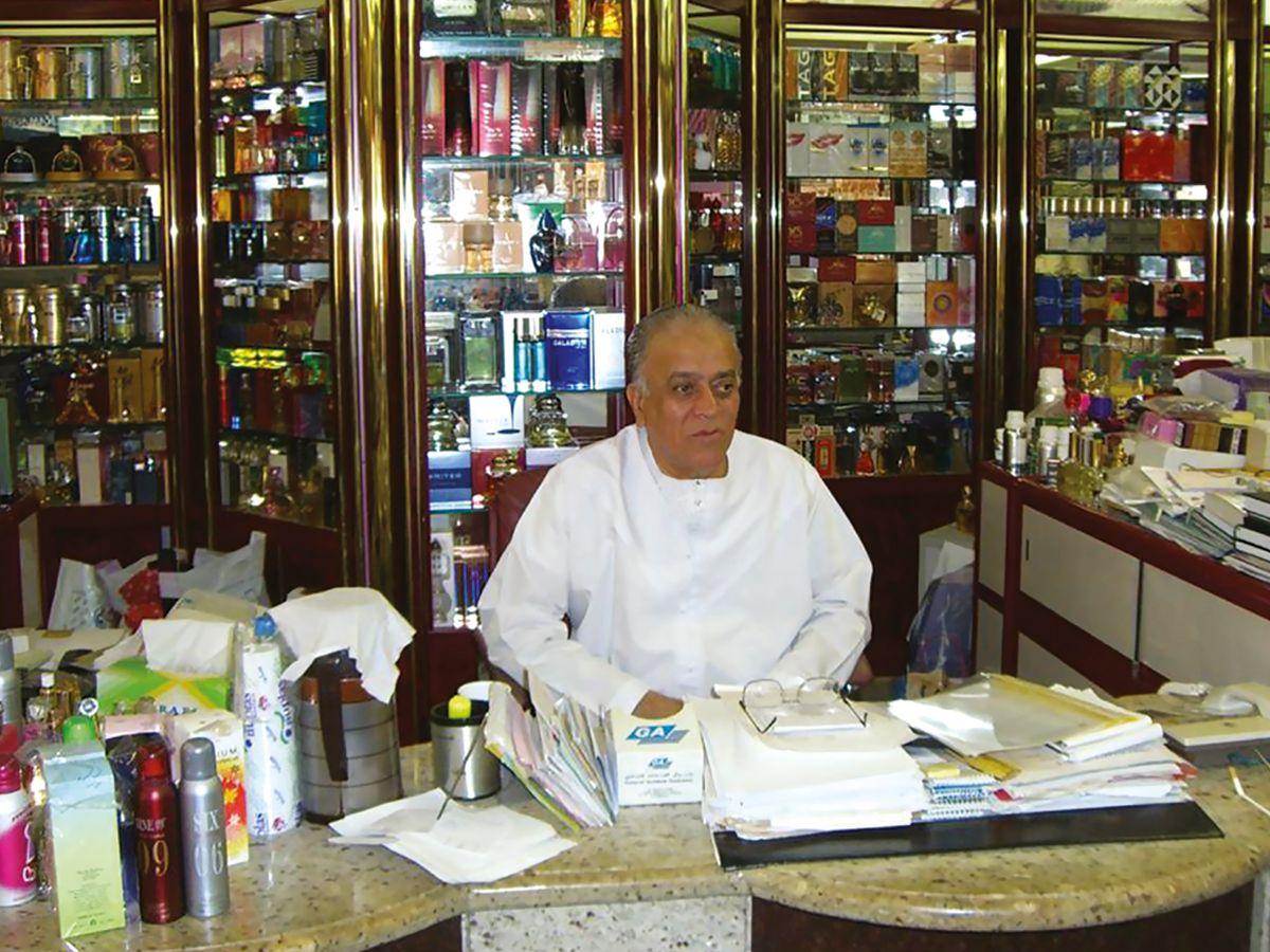 Shaik Saeed at the store_WEB