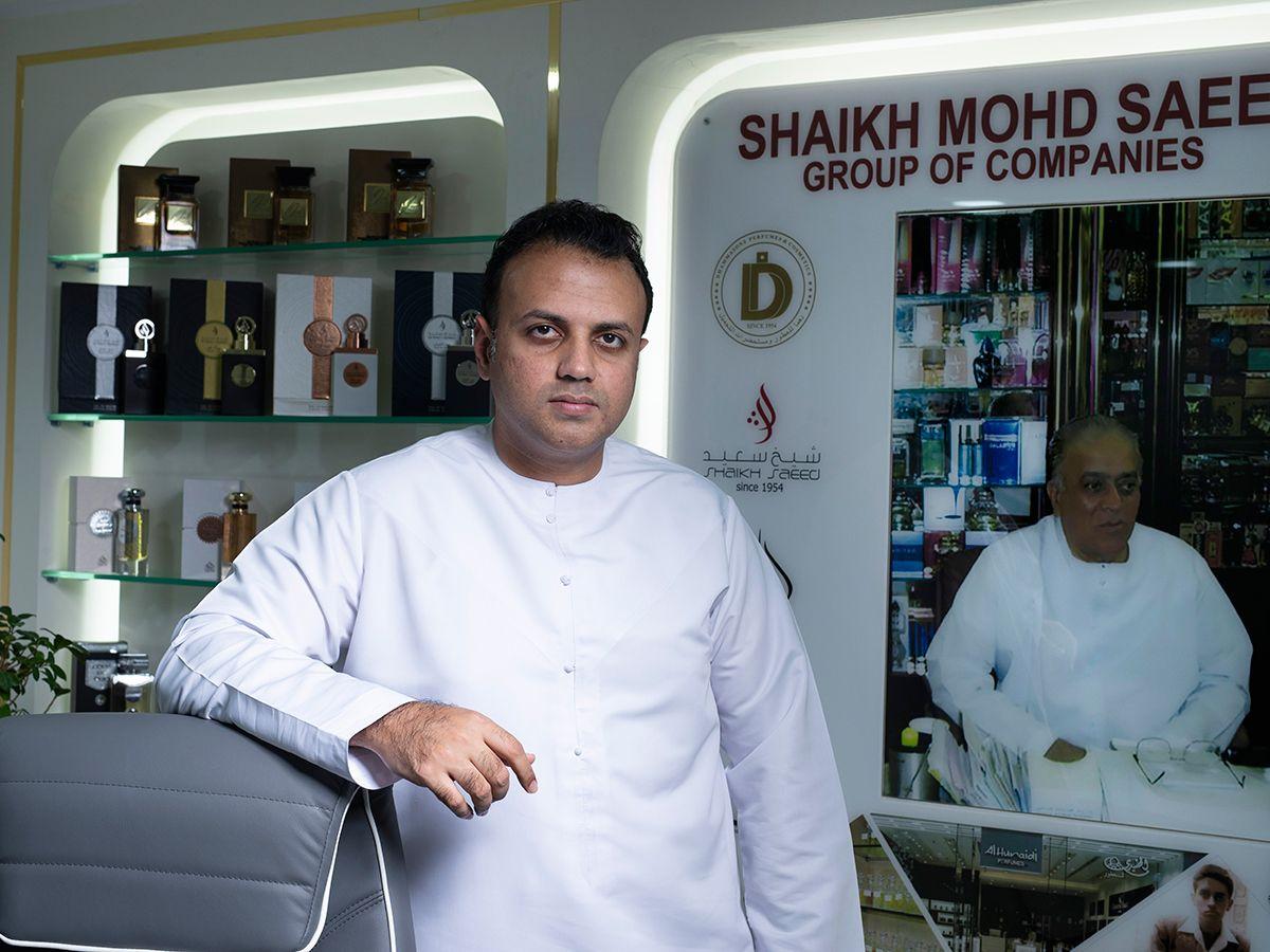 Shaikh Saeed perfumes lead for web