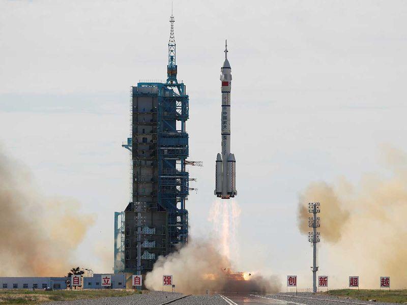 Space station China rocket