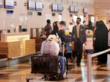 Stock Saudi airport