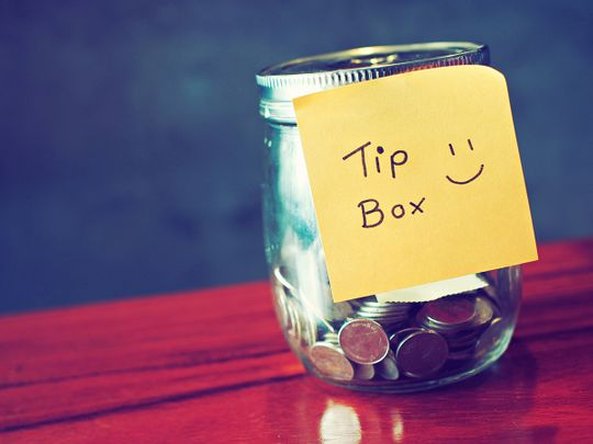 Tipping culture in the UAE